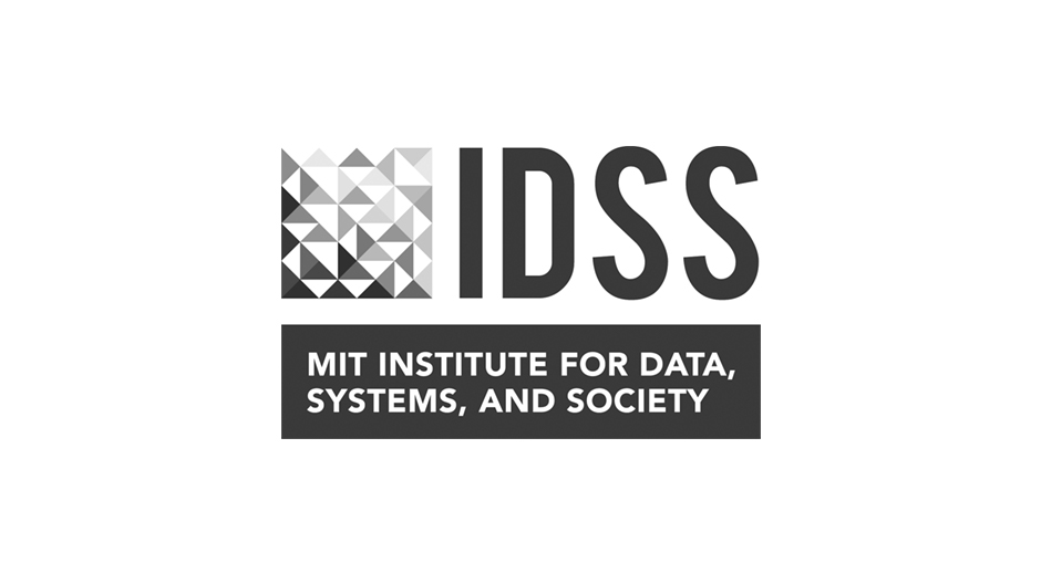 Logo for the MIT Institute for Data, Systems, and Society